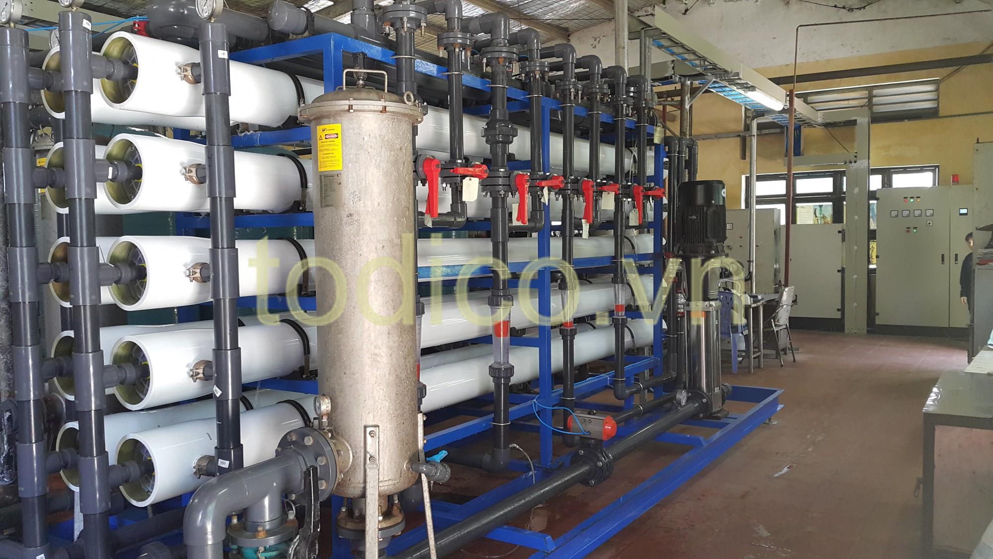 Hệ Thống RO Xử Lý Nước Nấu Bia - Nhà máy bia Sài Gòn Nghệ Tĩnh