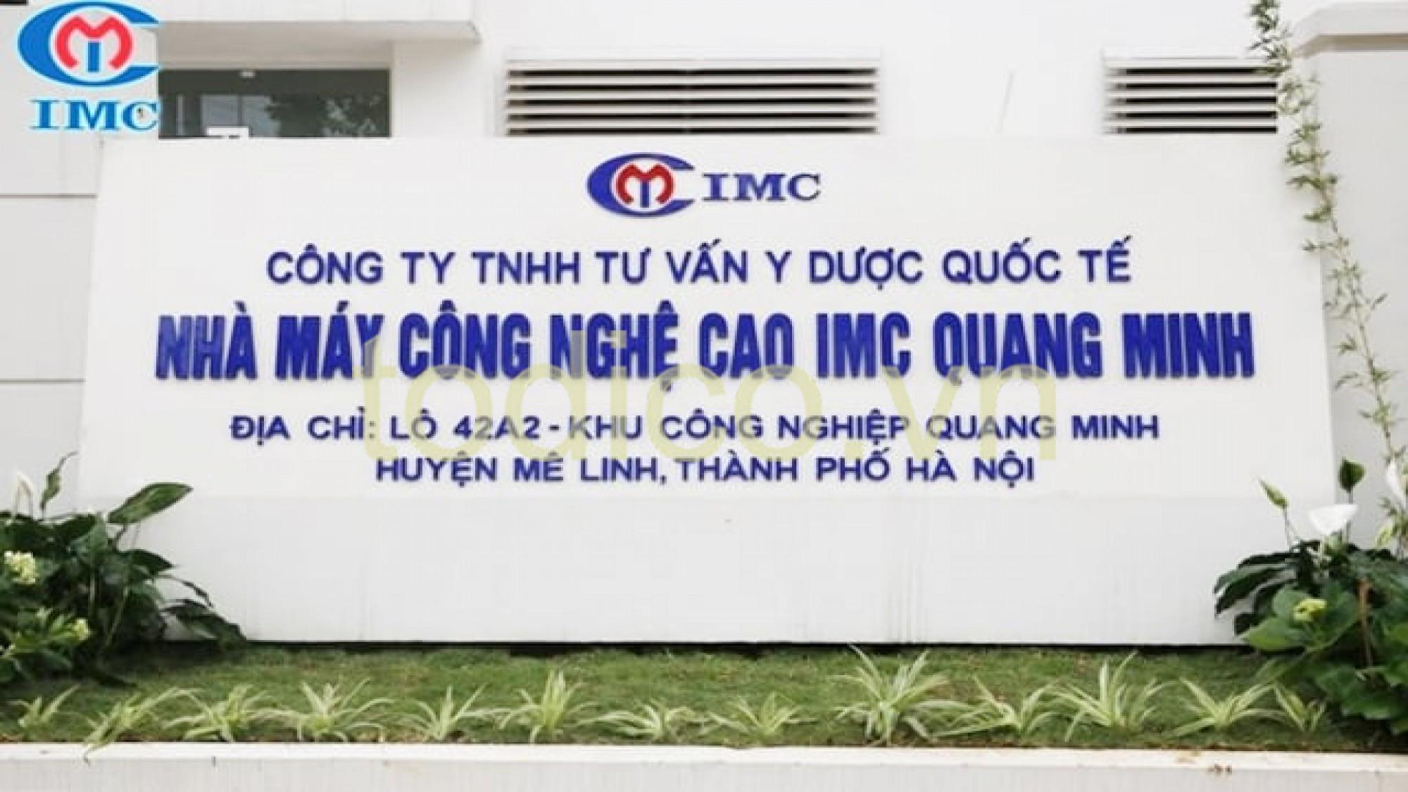 Hệ thống xử lý nước RO 2 cấp - Y Dược Quốc Tế IMC