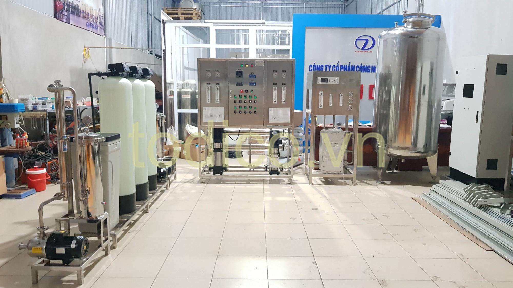 Hệ thống xử lý nước RO 2 cấp & EDI - Dược Trang Ly