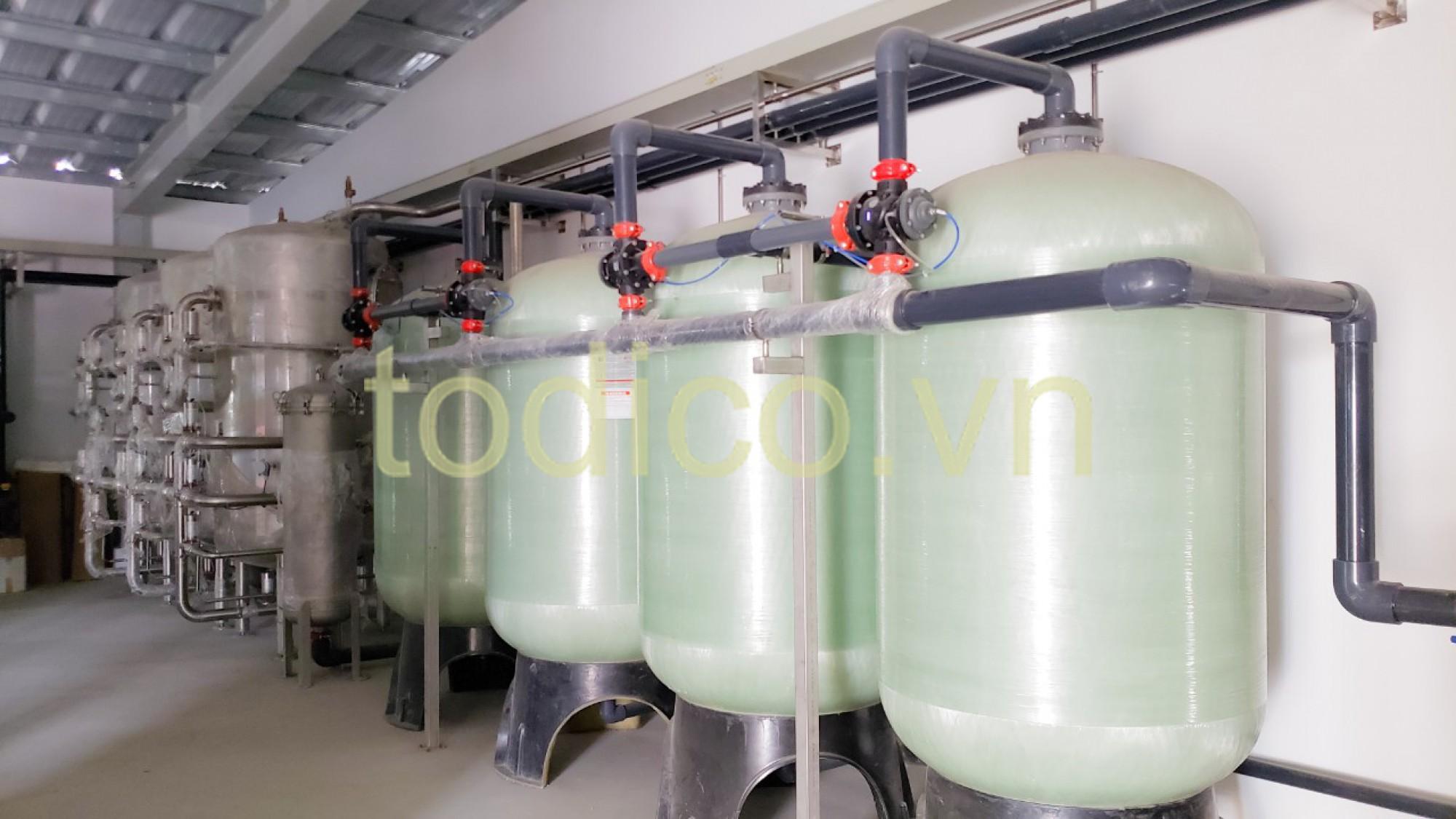 Hệ thống RO xử lý nước nấu bia - Nhà máy Bia Barett Hưng Yên