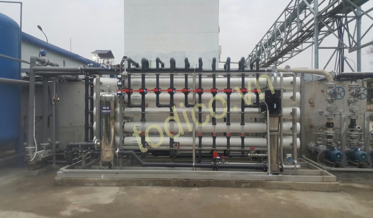 Hệ thống xử lý nước RO - Nhà máy luyện đồng Lào Cai